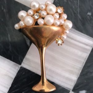 mysoulrepair Jewelry - New Years Champagne bubbling Pearls & Rhinestones